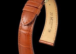 Hirsch Watch Strap In Alligator at Sonning Vintage Watches